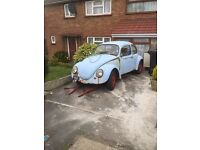 Vw beetle restoration project