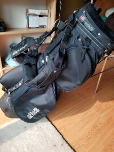 Golf stand, carry bag