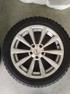TOYO OBSERVE SNOW TIRES AND ALLOY WHEELS Kitchener / Waterloo Kitchener Area image 1