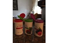 Juice plus premium capsules - opened