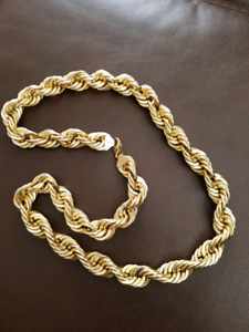 107g rope chain 3/4 thick