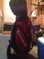 Taylormade clubs and bag