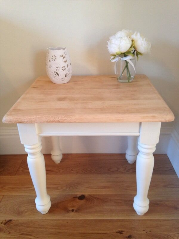 Cream occasional table in buy or sell find it used for 10 table cream