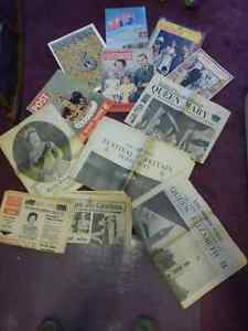 British Royal Family Lot-Vintage Magazines & Newspaper Clippings