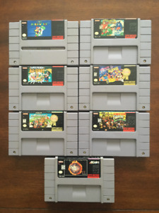 Games for the Super Nintendo