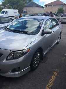 2009 Toyota Corolla S Sedan, clean, never accident