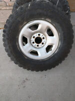 4 32 inch goodyear wrangler territory 285/70r17 tires