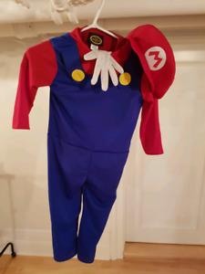 Costume de Mario Bros