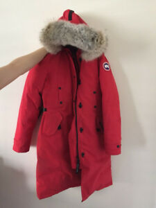 Canada Goose Kensington Parka - RED, LARGE