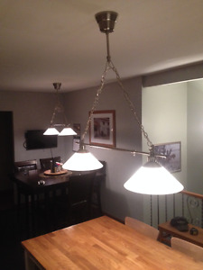 Pub Style Hanging Lights - 2 Sets Available