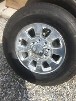 New 2014 GMC / CHEVY 2500 / 3500 Rims and Tires 18'