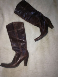 Genuine Leather Boots (size 9)