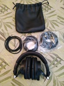Black Audio Technica ATH-M50x