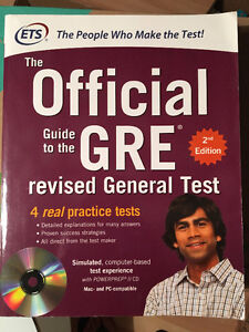 GRE The Official Guide to the Revised General Test 2nd edition