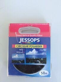Jessops Circular Polarising Filter 58 mm
