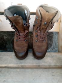 Haix military boots size 11 medium