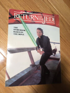 """""""Star Wars"""" Return of the Jedi (storybook 1983) - great cond. !!"""