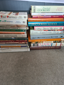 JOB LOT x 27 Various COOK BOOKS, Italian, Slow cooker, healthy etc