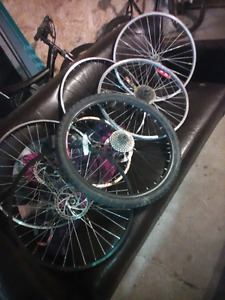 WANTED moutian bike and bmx parts n bikes