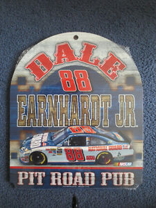 DALE EARNHARDT JR. #88 NATIONAL GUARD WOOD SIGN
