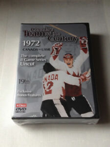 Canada's 1972 Hockey Team of the Century  DVD Set  Unopened