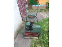 Atco b17 petrol lawnmower & roller