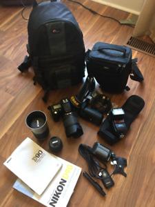 Nikon D90 Camera and Gear