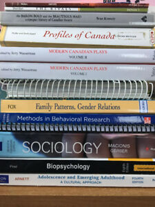 University of Windsor Textbooks for sale