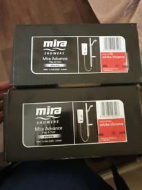 Mira advance flex showers