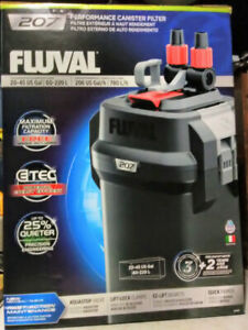 207 PERFORMANCE CANISTER FILTER