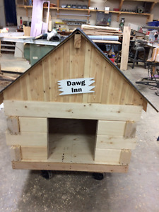 dowg house for spoiled dogs only