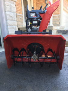 30 inch 250cc NEARLY NEW CRAFTSMAN SNOW BLOWER