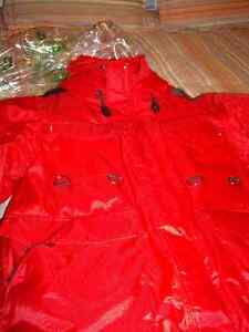 Men's Red Winter Coat