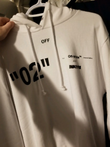 """Off White """"For All"""" hoodie size medium"""