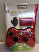 BRAND NEW Red Rechargeable XBOX 360 Wireless Controller