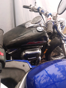 2001 honda shadow 750 spirit