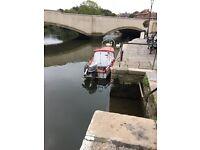 5 meter cuddy fishing boat with trailer and 30hp Suzuki GWO