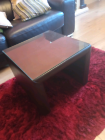 Faux leather side tables £5 the lot