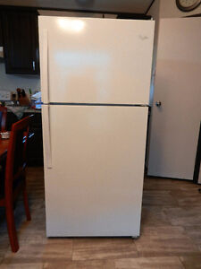 Newer refrigerator in excellent shape.