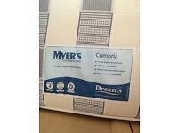 Double mattress Myers Cumbria