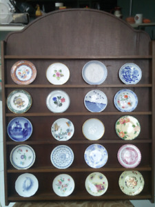 Miniatures plates collection