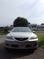 2004 Mazda 6, A/C, 179000km, Auto, 2.3L, timing chain