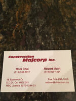 Master electrician MAJCORP CONSTRUCTION
