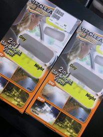 Car visor 2 in 1 day and night