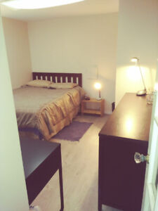 Short term furnished room in Central location in renovated house