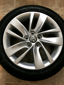 Genuine Vauxhall alloy wheel