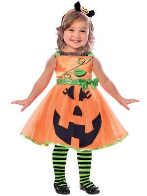 Toddler Cute Pumpkin Fancy Dress Costume Halloween Kids Girls Jack o - Cute Kid Girl Kostüm