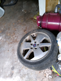 Saab Alloy wheel