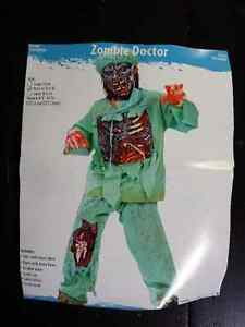 Zombie Doctor Halloween Costume - Size 8-10 Years