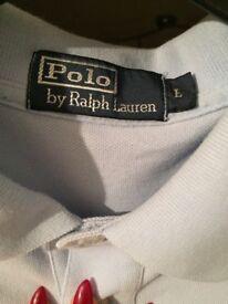 Men's Ralph Lauren size large polo shirt
